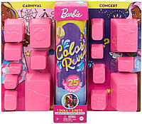 Кукла Барби сюрприз Колор Ревил Цветное перевоплощение Barbie Color Reveal 25 сюрпризов афроамериканка, фото 1