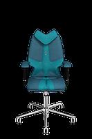 Детское эргономичное кресло KULIK SYSTEM FLY Джинс 1306, КОД: 1335563