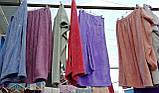 Полотенце-халат на заклепках с резинкой + чалма для сушки волос, фото 3