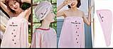 Полотенце-халат на заклепках с резинкой + чалма для сушки волос, фото 2