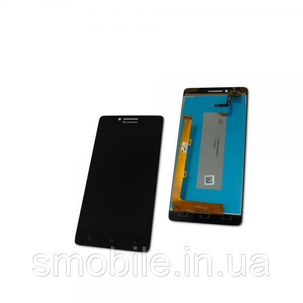Lenovo Дисплей Lenovo A6000 A6010 K3 K30T K30W с сенсором, черный (оригинальные комплектующие)