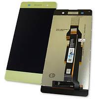 Sony Дисплей Sony F3111 F3113 F3115 F3112 F3116 Xperia XA з сенсором, золотистий (оригінальні комплектуючі), фото 1