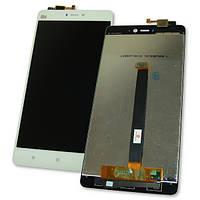 Дисплей Xiaomi Mi4S с сенсором, белый (оригинальные комплектующие), фото 1