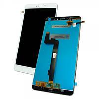 Xiaomi Дисплей Xiaomi Mi Max 2 с сенсором, белый (оригинальные комплектующие), фото 1