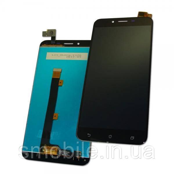 Дисплей Asus ZenFone 3 Max ZC553KL  с сенсором, черный (оригинальные комплектующие)