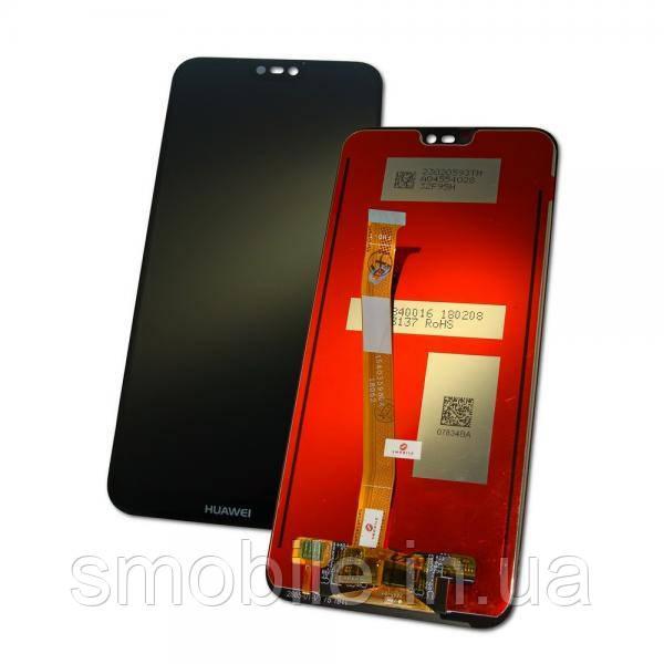 Huawei Дисплей Huawei P20 Lite 2018 Nova 3e с сенсором, черный (оригинал Китай)