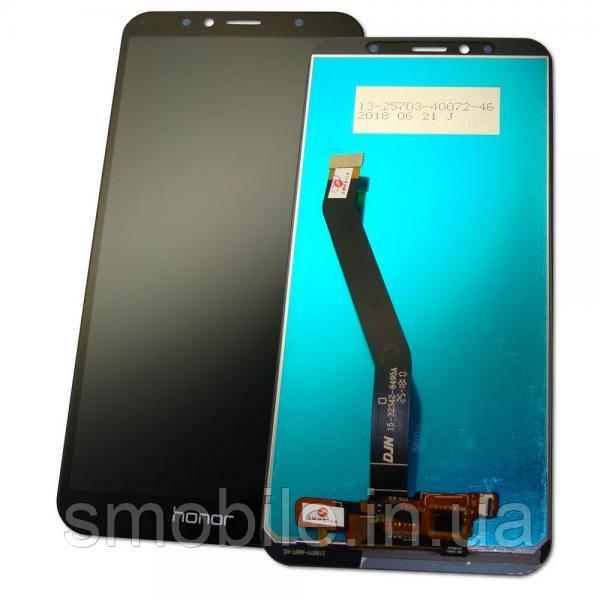 Huawei Дисплей Huawei Y6 2018 Honor 7A Pro с сенсором, черный, (логотип - HONOR, оригинальные комплектующие)