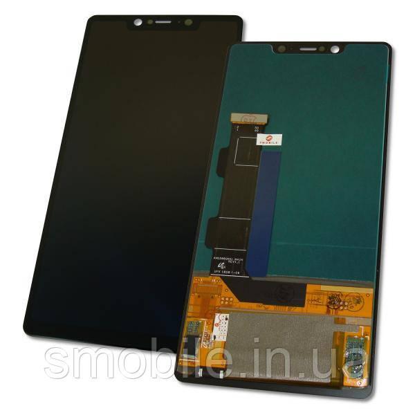 Дисплей Xiaomi Mi8 SE с сенсором, черный (оригинал Китай)