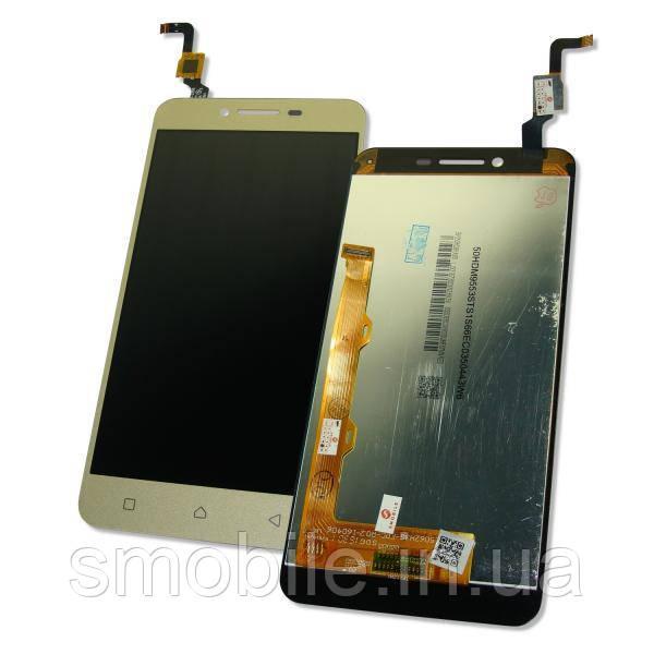 Lenovo Дисплей Lenovo A6020a40 Vibe K5 з сенсором, золотистий (оригінальні комплектуючі)