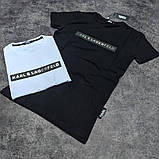 Мужская футболка Karl CK1701 черная, фото 2