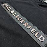 Мужская футболка Karl CK1701 черная, фото 3