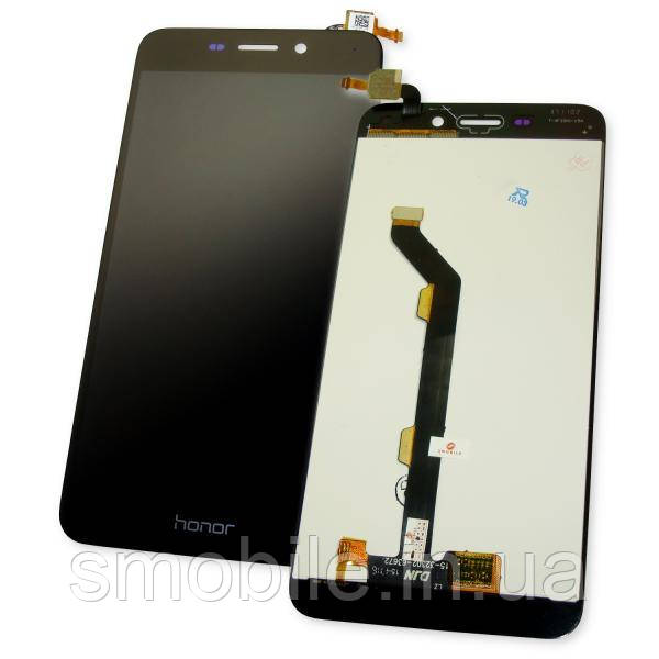 Huawei Дисплей Huawei Honor 6C Pro Honor V9 Play с сенсором, черный (оригинальные комплектующие)