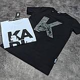Мужская футболка Karl CK1703 черная, фото 2