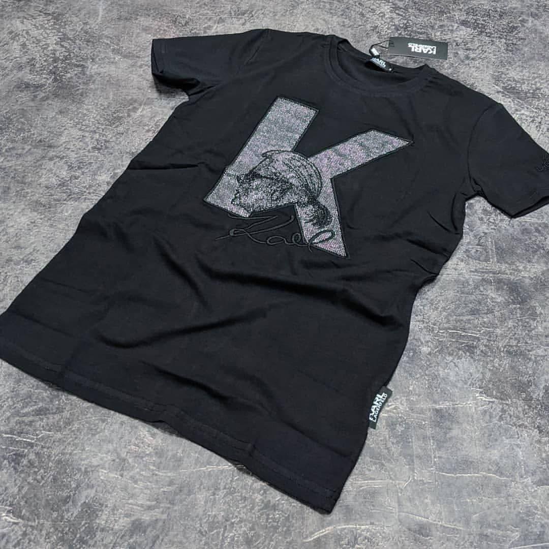 Мужская футболка Karl CK1703 черная