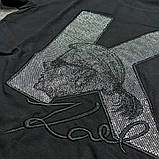 Мужская футболка Karl CK1703 черная, фото 3
