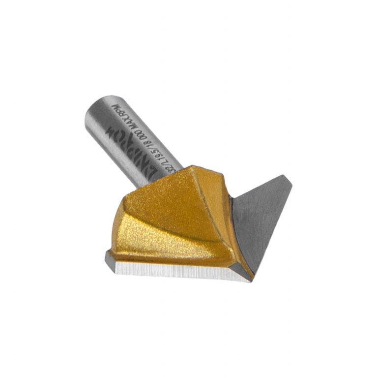 Фреза Dnipro-M А0406 8x32 мм (90°), пазовая галтельная, V-образная для гипсокартона