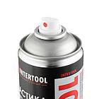 Мастика бітумна, аерозоль 500 мл INTERTOOL FS-6850, фото 2