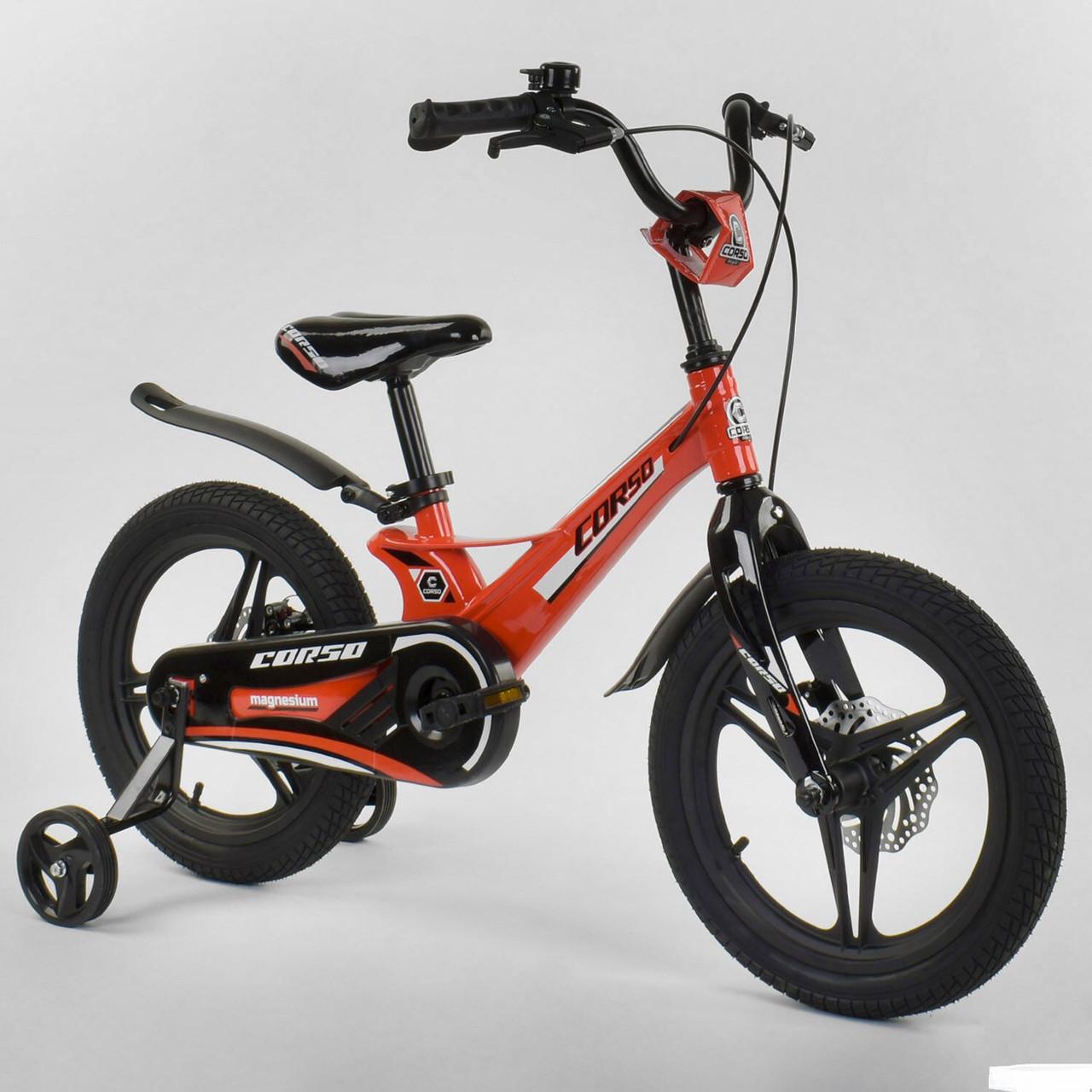 """Велосипед 16"""" дюймов 2-х колёсный """"CORSO"""" MG-45105"""