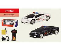 Машина аккум. р/у 7M-822 ( 1:20, 2 цвета, свет,звук, в кор 29*14*11,5 см, р-р игрушки – 21*9*(7M-822)