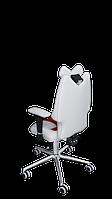 Детское эргономичное кресло KULIK SYSTEM FLY Бело-красное 1301, КОД: 1335566