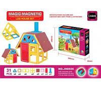 Конструктор магнітний MAGIC MAGNETIC JH8926 31дет.кор.30*6,5*24(JH8926)