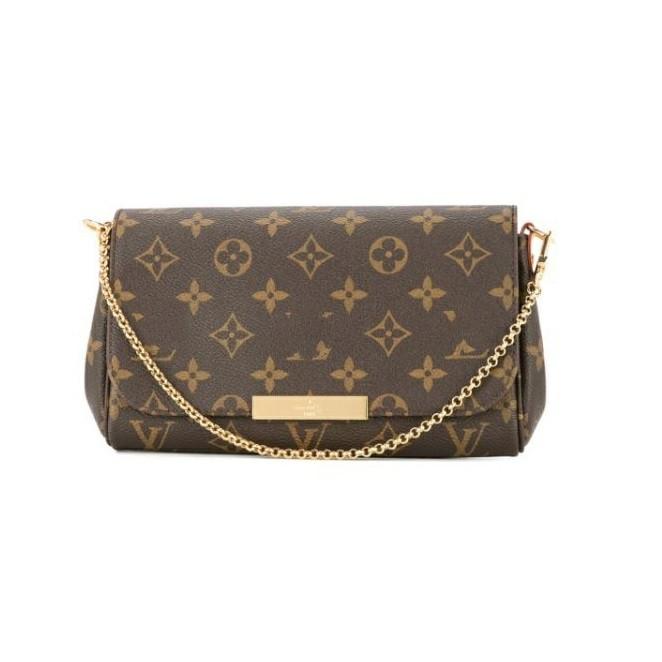 Женская сумка клатч Луи Виттон Favorite Monogram 1:1 зеркало с документами