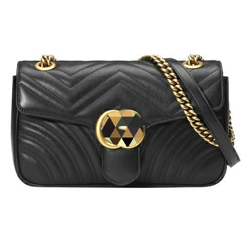 Стеганая сумка Гуч чи в фирменой упаковке 1:1 с серийным номером