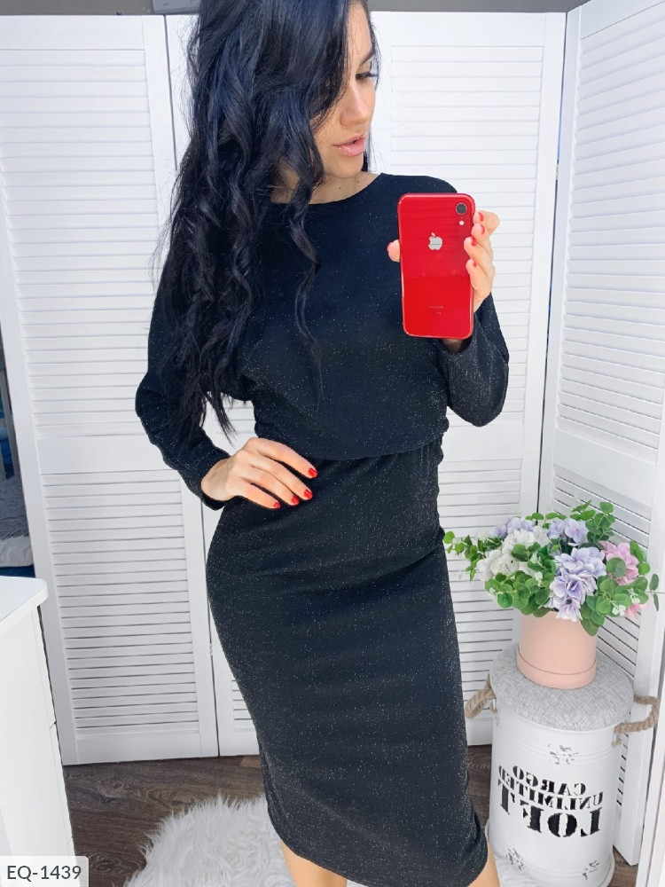 Коктейльное платье в больших размерах (DG-р15245/1)