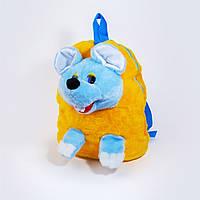 Рюкзак детский Золушка Мышка 32см Желтый 267-2, КОД: 1463625