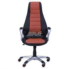 Кресло руководителя Форс (коричневая вставка) (с доставкой), фото 3