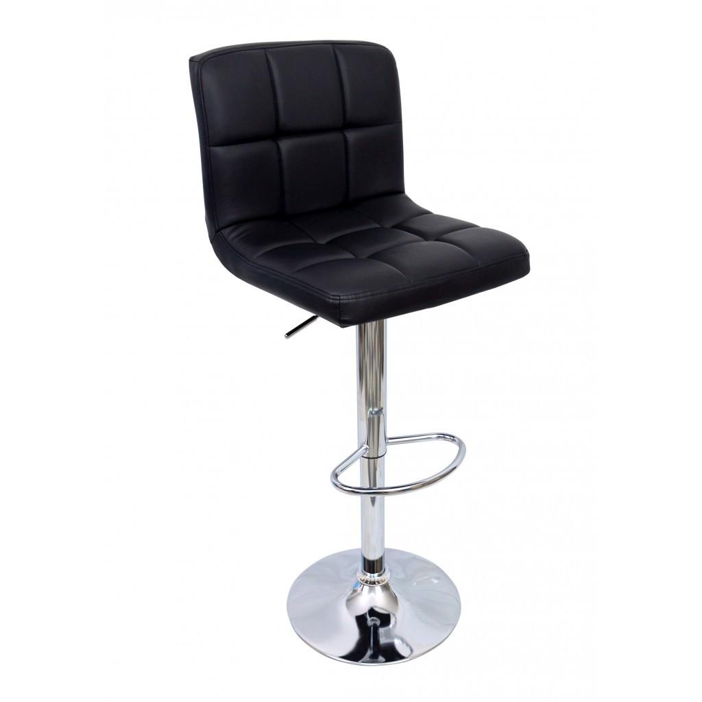Барний стілець хокер Bonro 628 чорний