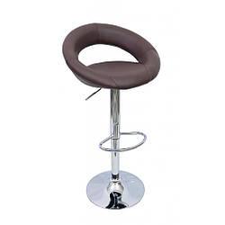 Барний стілець хокер Bonro 650 коричневий