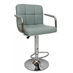 Барний стілець хокер Bonro B-628-1 сірий