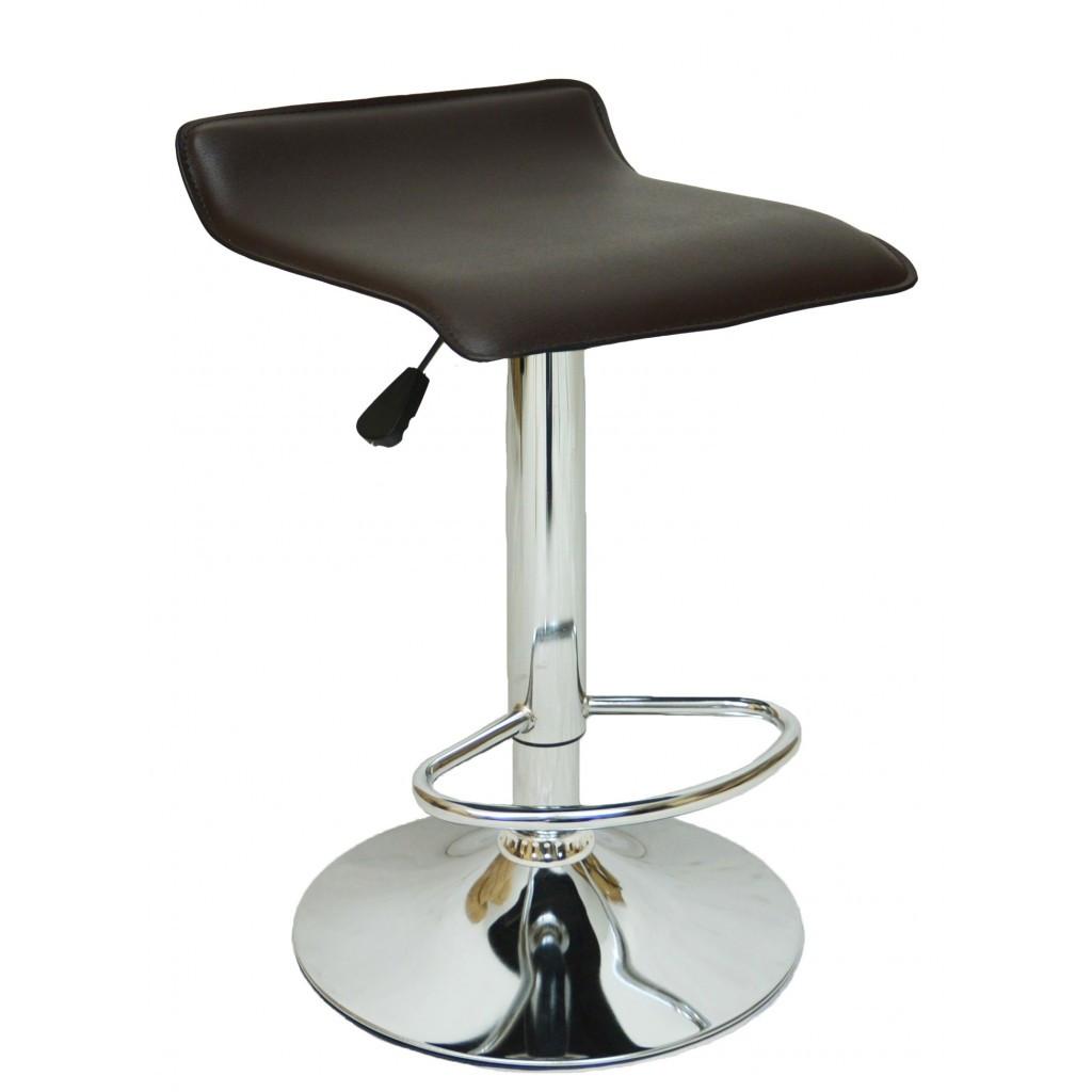 Барний стілець хокер Bonro B-688 коричневий