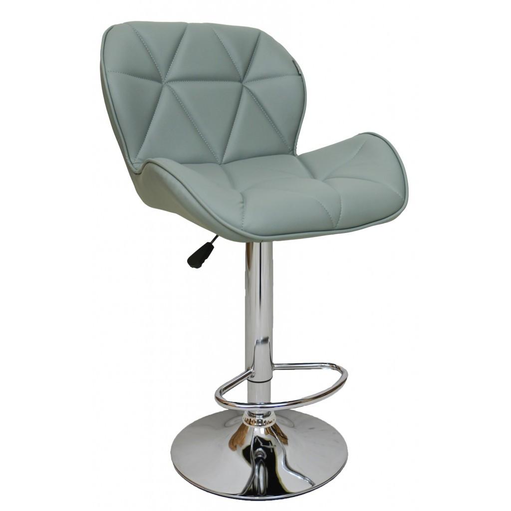Барний стілець хокер Bonro B-868M сірий