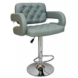 Барний стілець хокер Bonro B-823A сірий