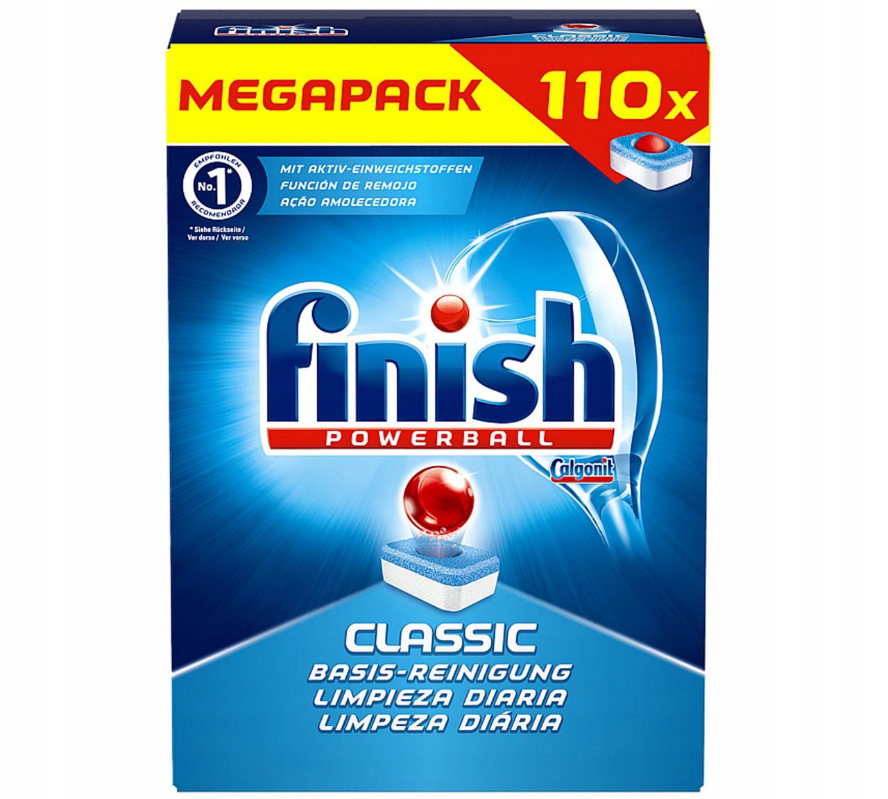 Миючий засіб в таблетках Finish Classic 110 шт