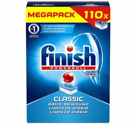 Миючий засіб в таблетках Finish Classic 110 шт, фото 2