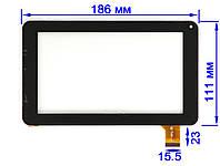 Тачскрин сенсор Nomi A07000, A07002, A07003