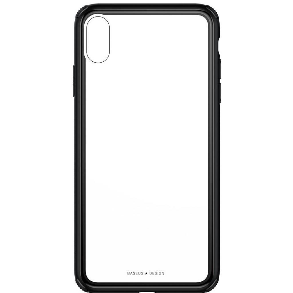 Apple iPhone XS Чохол-накладка Baseus See-through Black