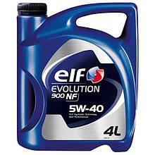 Масло моторное Elf evolution 900 NF 5W-40 4L