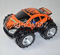 Машинка на радио управлении модель амфибия оранжевая