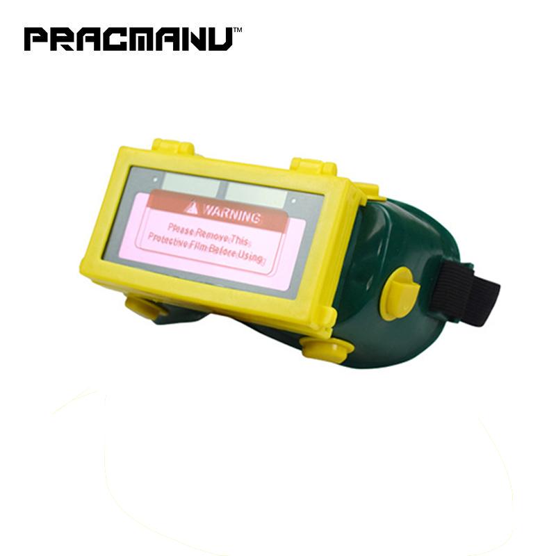 Сварочная маска с автозатемнением на солнечной батарее DHZ13