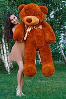 Большой медведь тедди 180 см коричневый