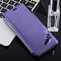 Чехол Mirror для Samsung Galaxy A9 2018 / A920 книжка зеркальный Purple