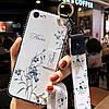 Чехол Lanyard для Iphone 7 / Iphone 8 бампер с ремешком White
