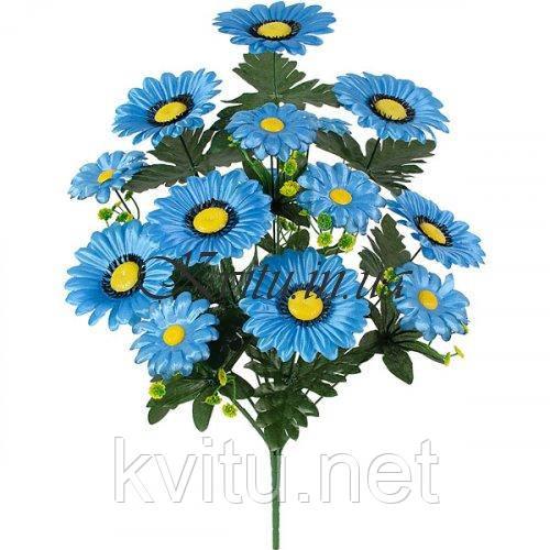 Искусственные цветы букет ромашки Лоск, 50см