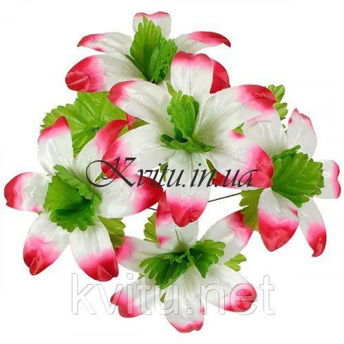 Искусственные цветы букет лилий Пальма, 46см