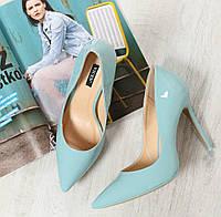 Туфлі жіночі класичні голубі,мятний, фото 1