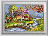 Алмазная мозаика Краски осени Dream Art 30690 31x45см 27 цветов, квадр.стразы, полная зашивка. Набор алмазной